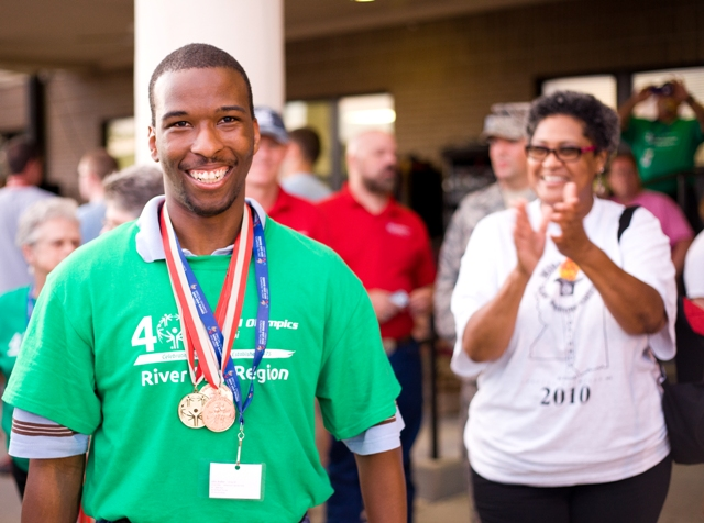 Special Olympics Mississippi Athletes
